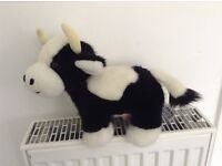 Fluffy Cow Soft Toy