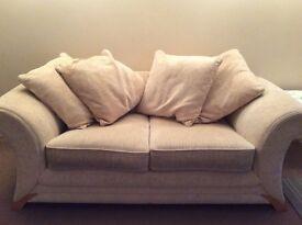 Cream sofa £50