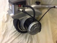 12 volt battery operated jockey wheel caravan mover