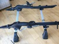 Cycle rack and roof bars for VW Golf 2013 onwards