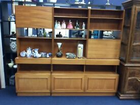 McIntosh Mid Century Wall Unit / Free Glasgow delivery