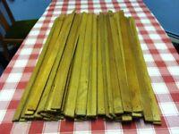 63 x hardwood slats ( 6mm x 30mm ) for sale - bargain £ 40