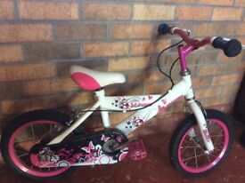 Girls bike.