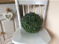 Hanging topiary ball