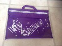 Music book bag