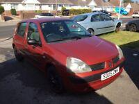 2005 Renault Clio 1.2 petrol 5 doors
