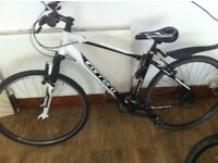 Carrera crossfire 1 26 inch hybrid very good condition v brakes shimano gears