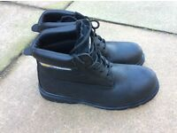 Trojan work safety boot, steel toe cap