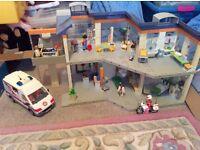 Playmobil Hospital, Ambulance and Ambulance Motorbike