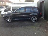 BMW X5 3.0i manual £1800 ono