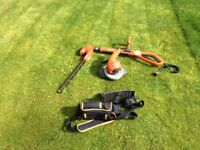 Hedge cutter and strimmer attachment Flymo