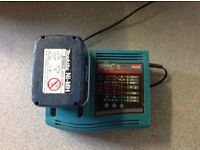 24 volt battery and charger makita