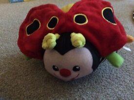 V tech cuddle and learn ladybird