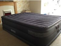 Intex inflatable double bed