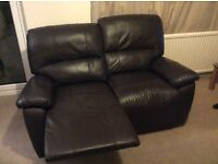 Two - 2 Seater manual recliner sofas