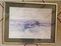 Ackerman prints in frames