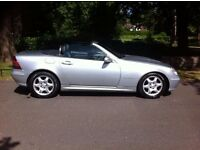 MERCEDES BENZ SLK 200 KOMPRESSOR CONVERTIBLE, AUTOMATIC, 12 MONTH M.O.T, LOW MILES, LOVELY CAR