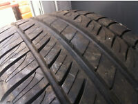 Like New Michelin Tyre 215 55 16 - On Citroen / Peugeot 4 Stud Steel Wheel -CALL / TEXT-07486160867-