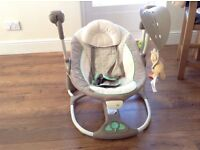 Electric Portable Baby Swing-2-seat by Ingenuity - cost £89.99 from Argos