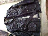 Ladies Blue wax jacket