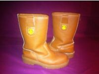 Rigger boots construction / safety size 7