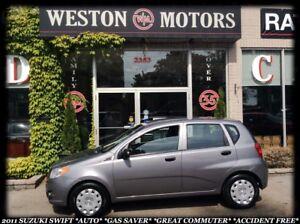 2011 Suzuki Swift *AWD *LEATHER *SUNROOF *BT *LUXURY PKG *LOW KM