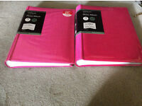 Two brand new photo albums