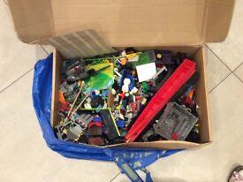 Box of mixed Lego 9 kg