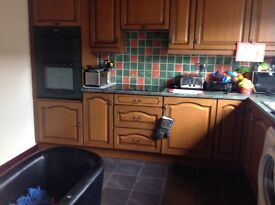 Super 3 bedroom terraced house to rent in Lhanbryde gas ch dg large storeroom