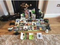 Xbox 360 250 GB with Kinect plus loads of games