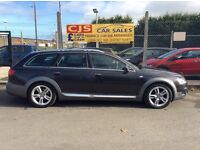 Audi A6 all road 2.7 tdi diesel 4x4 2009 one owner log mot ull service history great winter car px