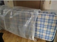 "Small Single Mattress in very good condition, size 76 x 190 cm / 30"" x 75"" / 2'6"" x 6'3"". £26"