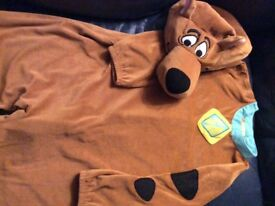 Original scooby doo dressing up outfit age 5-8
