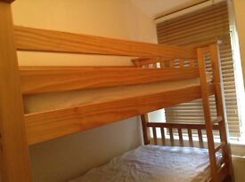 Wooden bunk beds by John Lewis
