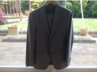 Zara mans grey suit