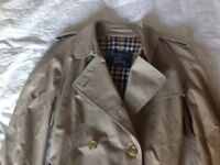 Nearly new Burberry trench coat - lost weight and doesn't fit