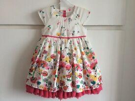 Twin girls summer dresses (9-12 months)