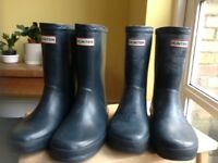 Kids Hunter Wellies size 13