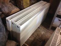 Secondhand double radiators - 3 * 1400 & 1 * 1600