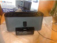Sony speaker dock / clock radio for iPod iPhone