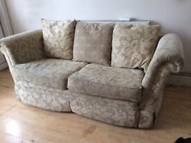 X2 LARGE GOOD QUALITY TWO SEATER SOFAS