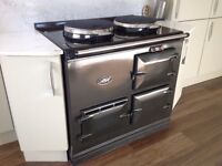 An electric 2 oven Aga for sale