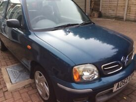 Nissan micra 1.0 petrol for sale
