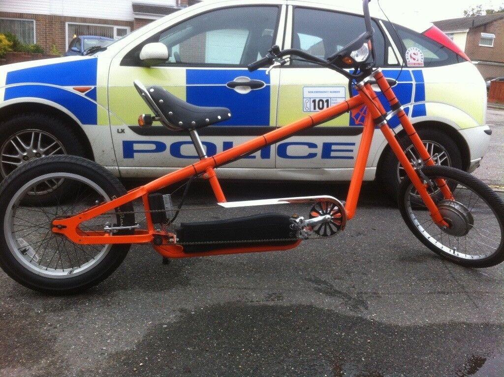 Electric Chopper Bike (Homemade).