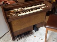 Free electric organ ideal for community centre or chapel