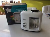 Tommee Tippee baby Food steamer blender - like new