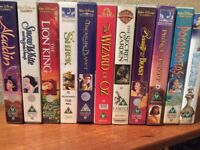 Disney and other children's movies, on VHS