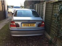 BMW 320D FOR SPARES OR REPAIR ONLY