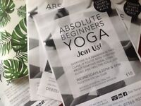 Tuckton - Absolute Beginners Yoga Classes - Wed 6.30pm & 8pm. Free Parking.