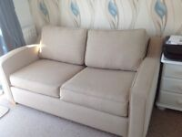 Sofabed small double, metal frame good condition, pet and smoke free home